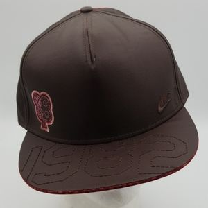 Nike brown 1982 Lux hat cap men size 7 1/2